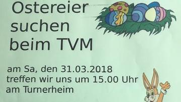 Ostereier Suchen beim TVM