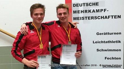 Gold und Silber für Eichhorn-Brüder