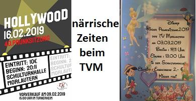 närrische Zeiten beim TVM